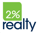 2% Realty PRO Logo