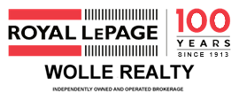 Royal LePage. WOLLE REALTY Brokerage Independently owned and Operated