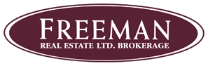 Broker- Freeman Real Estate Ltd. Brokerage Logo