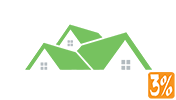 Alpine Realty 3% Logo