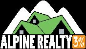 Alpine Realty 3% Logo