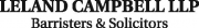 Leland Campbell LLP Barristers & Solicitors